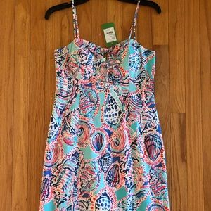 NWT Lilly Pulitzer size 4 shell me dress